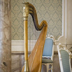 The Gilded Harps of Boston