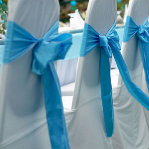 Satin Chair Covers Rental