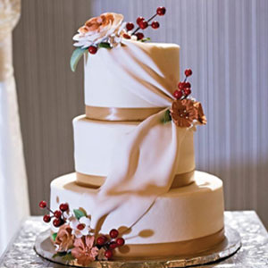 Top Tier Wedding Cakes